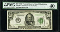 Fr. 2100-C $50 1928 Federal Reserve Note. PMG Extremely Fine 40