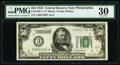Fr. 2100-C* $50 1928 Federal Reserve Star Note. PMG Very Fine 30