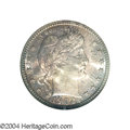 Barber Quarters: , 1902-S 25C MS66 NGC. Minted in smaller numbers than the ...
