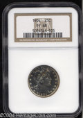 Proof Barber Quarters: , 1904 25C PR68 NGC. Blushes of golden-brown and electric-...