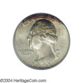 Washington Quarters: , 1941-D 25C MS67 PCGS. An original and very attractive ...