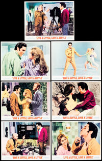 """Live a Little, Love a Little (MGM, 1968). Very Fine-. Lobby Cards (7) (11"""" X 14""""). Elvis Presley. ... (Total:..."""