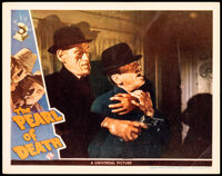 """The Pearl of Death (Universal, 1944). Fine/Very Fine. Lobby Card (11"""" X 14""""). Mystery"""
