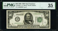 Low Serial Number 994 Fr. 2100-L* $50 1928 Federal Reserve Star Note. PMG Choice Very Fine 35