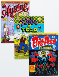 Underground Comix Group of 26 (Various Publishers, 1960s-70s) Condition: Average VG.... (Total: 26 Comic Books)