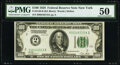 Fr. 2150-B $100 1928 Federal Reserve Note. PMG About Uncirculated 50