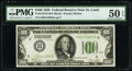 Fr. 2150-H $100 1928 Federal Reserve Note. PMG About Uncirculated 50 EPQ