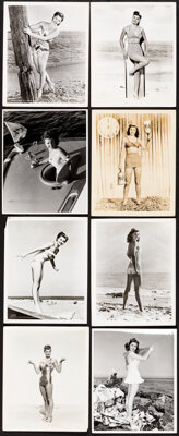 """Esther Williams Lot (MGM, 1940s-1950s). Fine/Very Fine. Studio Release Photos (14) (Approx. 8"""" X 10"""") & Tr..."""
