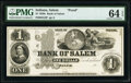 Salem, IN- Bank of Salem $1 18__ G2 Wolka 2240-01 Proof PMG Choice Uncirculated 64 EPQ