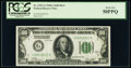 Fr. 2151-G $100 1928A Federal Reserve Note. PCGS About New 50PPQ