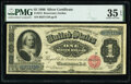 Large Size:Silver Certificates, Fr. 215 $1 1886 Silver Certificate PMG Choice Very Fine 35...