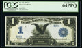 Low Serial Number B26A Fr. 233 $1 1899 Silver Certificate PCGS Very Choice New 64PPQ