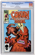 Modern Age (1980-Present):Science Fiction, Conan the Barbarian Annual #9 (Marvel, 1984) CGC NM/MT 9.8 Whitepages....