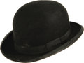 "Movie/TV Memorabilia:Costumes, Glenn Ford's Bowler Hat from ""Pocketful of Miracles."" As Dave ""theDude"" Conway, Glenn Ford (1916-2006) found one of his fin..."