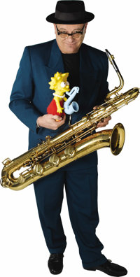 Lisa Simpson Saxophone, with Extras Including Platinum Album Presentation.The two decades-long (and counting) popularity...