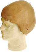 "Movie/TV Memorabilia:Props, ""Star Trek: Deep Space Nine"" Ferengi Head Prosthetic. This paintedfoam scalp prosthetic was worn by actor Armin Shimerman i..."