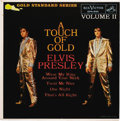 """Music Memorabilia:Recordings, Elvis Presley """"A Touch Of Gold - Volume II"""" EP (RCA 5101, 1959).Gorgeous maroon label copy with """"Wear My Ring Around Your N..."""