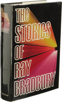 Ray Bradbury: Signed Limited Presentation Copy of The Stories of Ray Bradbury. (New York: Alfred A. Knopf, 1980), first...