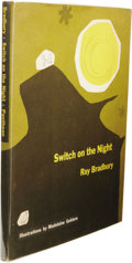Books:First Editions, Ray Bradbury: Switch on the Night. (New York: PantheonBooks, 1955), first edition with earliest printing statement ont...
