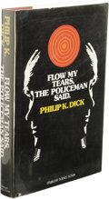 Books:First Editions, Philip K. Dick: Flow My Tears, The Policeman Said. (NewYork: Doubleday & Company, Inc., 1974), first edition, 231pages...