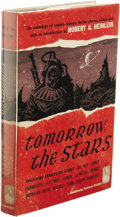 Books:First Editions, Robert A. Heinlein, editor: Tomorrow, the Stars. (GardenCity, New York: Doubleday, 1952), first edition, 249 pages, gra...