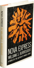 Books:First Editions, William S. Burroughs: Nova Express. (New York: Grove Press,Inc., 1964), first printing, 187 pages, cover design by Roy ...