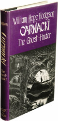 Books:First Editions, William Hope Hodgson: Carnacki, the Ghost-Finder. (SaukCity: Mycroft and Moran, 1947), first enlarged edition, 241 page...