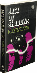 Books:First Editions, Roger Zelazny: Jack of Shadows. (New York: Walker andCompany, 1971), 207 pages, jacket design by Judith Loeser, whiteb...