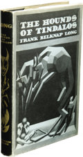 Books:First Editions, Frank Belknap Long: The Hounds of Tindalos. (Sauk City:Arkham House, 1946), first edition, 316 pages, jacket by Hannes ...