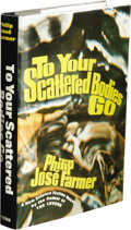 Books:First Editions, Philip José Farmer: To Your Scattered Bodies Go. (New York: G. P. Putnam's Sons, 1971), first edition, 221 pages, black ...