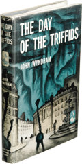 Books:First Editions, John Wyndham: The Day of the Triffids. (New York: Doubleday& Company, Inc., 1951), first edition, 222 pages, jacket des...