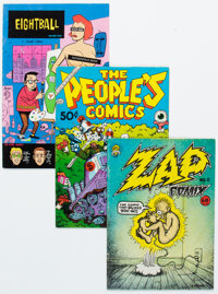 Underground Comix Group Group of 40 (Various Publishers, 1970s-80s) Condition: Average VG+.... (Total: 40 Comic Books)