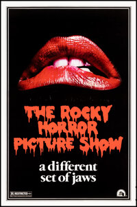"""The Rocky Horror Picture Show (20th Century Fox, 1975). Rolled, Very Fine-. One Sheet (27"""" X 41"""") Teaser, Styl..."""