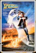 """Movie Posters:Science Fiction, Back to the Future & Other Lot (Universal, 1985). Folded, Fine/Very Fine. Spanish One Sheets (5) (27"""" X 39"""") Drew Struzan Ar... (Total: 5 Items)"""