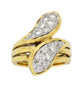 Estate Jewelry:Rings, Van Cleef & Arpels Diamond, Gold Ring, French ...