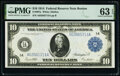 Fr. 907a $10 1914 Federal Reserve Note PMG Choice Uncirculated 63 EPQ