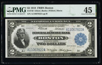 Fr. 749 $2 1918 Federal Reserve Bank Note PMG Choice Extremely Fine 45