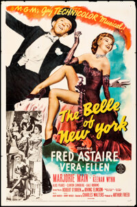 """The Belle of New York (MGM, 1952). Folded, Very Fine-. One Sheet (27"""" X 41""""). Musical"""