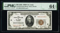 Fr. 1870-H $20 1929 Federal Reserve Bank Note. PMG Choice Uncirculated 64 EPQ