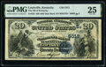 Louisville, KY - $20 1882 Date Back Fr. 555 The National Bank of Kentucky Ch. # (S)5312 PMG Very Fine 25