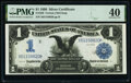 Large Size:Silver Certificates, Fr. 229 $1 1899 Silver Certificate PMG Extremely Fine 40.. ...