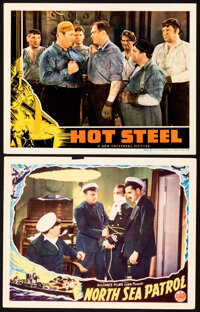 """North Sea Patrol & Other Lot (Alliance, 1938). Very Fine-. Lobby Cards (2) (11"""" X 14""""). Drama. ... (Total:..."""