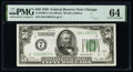 Fr. 2100-G $50 1928 Federal Reserve Note. PMG Choice Uncirculated 64