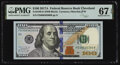 Small Size:Federal Reserve Notes, Fancy Serial Number 00636300 Fr. 2189-D $100 2017A Federal Reserve Note. PMG Superb Gem Unc 67 EPQ.. ...