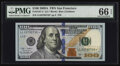 Small Size:Federal Reserve Notes, Fr. 2187-L* $100 2009A Federal Reserve Note. PMG Gem Uncirculated 66 EPQ.. ...