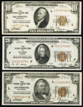 Fr. 1860-L $10 1929 Federal Reserve Bank Note. Very Fine-Extremely Fine; Fr. 1870-F $20 1929 Federal Reserve Bank Note...