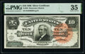 Large Size:Silver Certificates, Fr. 294 $10 1886 Silver Certificate PMG Choice Very Fine 3...