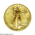 High Relief Double Eagles: , 1907 $20 High Relief, Wire Rim MS62 NGC. Fully detailed ...