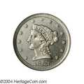 Patterns: , 1853 E1C One Cent, Judd-150 Thick, Pollock-178, Low R.7, ...