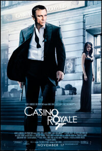 """Casino Royale (MGM, 2006). Rolled, Fine/Very Fine. One Sheet (27"""" X 40"""") DS Advance. James Bond"""